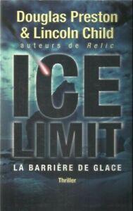 preston - Chil Ice limit - thriller -larchipel