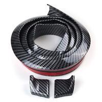 "59"" 4.9FT Universal Carbon Fiber Tail Rear Roof Lip Trunk Bumper Spoiler"