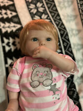 """Paradise Galleries Reborn Baby Doll """"Baby Penguin"""" in FlexTouch Silicone Vinyl"""