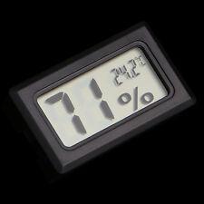 Pro Mini Indoor Digital LCD Temperature Humidity Meter Thermometer Hygrometer
