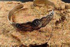 Crossed Arrows Star Bursts Bracelet Vintage Fred Harvey Era Sterling