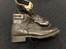 FRYE COMPANY BOOTS LACE UP DARK BROWN LEATHER MEN SIZE 10D 3488131