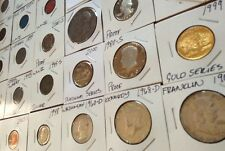 Franklin Kennedy Silver Fifty Cent 50 Proof Half Dollar Liberty Estate Lot Set