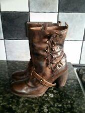 Ladies All Saints Spitalfields boots  brown Size 38/5