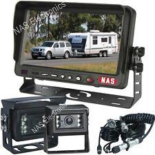 "Caravan Rear View System With Dual Individual Camera and 7"" Reversing Monitor"