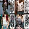 temporaire autocollant l'art corporel imperméables à l'eau bras, jambe tatouage