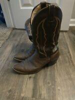 Abilene Shark Skin Cowboy Boots Size 10  Men's Made USA- leather