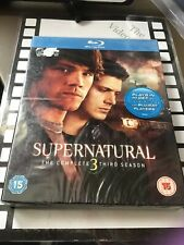 Supernatural - Series 3 - Complete (Blu-ray, Brand New & Sealed)