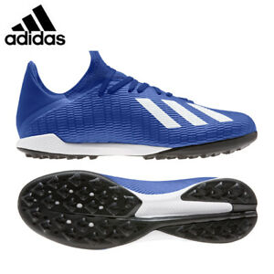 adidas Mens X 19.3 Football Trainers Astro turf Boots Blue Size 11,12, EU48 NEW