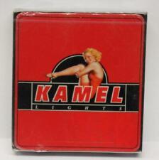 Red KAMEL Lights mfg by RJ Reynolds 1996 for International Sale Tin Box