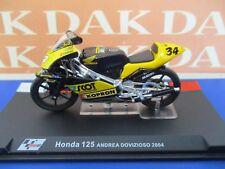 Die cast 1/24 Modellino Moto Honda 125 Andrea Dovizioso 2004