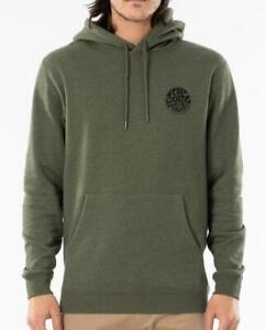 Rip Curl Men's Wettie Mono Hoodie Casual Standard Fit Sweatshirt Jumper SZ S-3XL