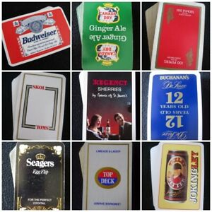 Vintage Playing Cards Breweriana Advertising Pack Deck Beer Lager Alcohol Sprit