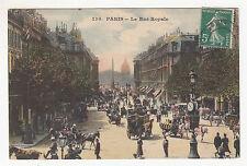 *** Paris - La Rue Royale (animée ++) *** SD - CPA 0796