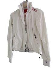 Camisa de bata blanca-tamaño de Reino Unido 8-S