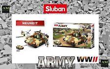 Sluban WWII Construction Set - Mittler German Tank - M38-B0859 - New/Boxed Army