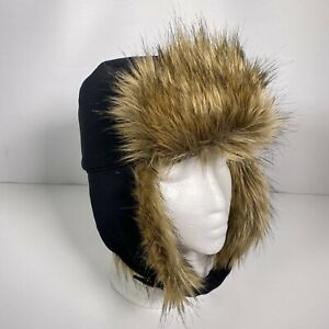 Columbia Winter Challenger Trapper Black Hat Small