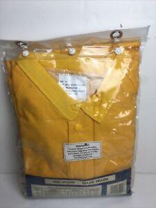 Rain Suit Halloween Costume Waterproof Jacket Bib Pants Outdoor Gear M Yellow
