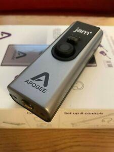 Apogee Jam +  Professional USB Audio Interface for Guitar, Bass, Keyboard etc.