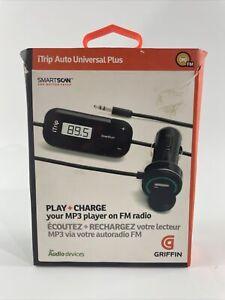 Griffin iTrip Auto Universal PlusTransmitter, play MP3 player thru your FM radio