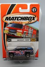 MATCHBOX CHEVROLET TAHOE #51 of 75 HAMMER AND NAILS MINT ON CARD #95270