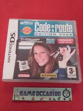 CODE DE LA ROUTE EDITION 2008 NINTENDO DS 3DS PAL FR COMPLET