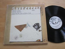 Steve Lacy & Steve Potts - Tips LP Hat Hut Avant Free Jazz Irene Aebi Ultrasonic