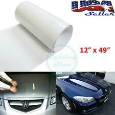 "12"" x 49"" Clear Bra Bumper Hood Headlight Paint Protection Tint Vinyl Sheet Film"