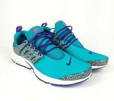 Nike Mens Size 12 Teal Purple 886043-300 Air Presto Running Fitness Active Sport