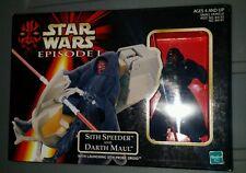 1998 Star Wars Episode 1 Darth Maul and Sith Speeder MISB
