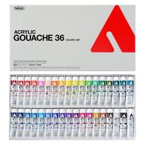 Holbein Acryla Gouache set 36 Colors Set(Japan Import) - Acrylic Gouache