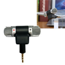 External Stereo Mini Microphone 3.5mm For Personal Video PC Laptop Notebook