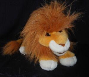 VINTAGE 1993 MATTEL THE LION KING MOVIE ROARING ADULT SIMBA STUFFED ANIMAL PLUSH