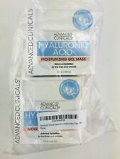 2X Advanced Clinicals Hyaluronic Acid Moisturizing Gel Mask, 5 fl Oz