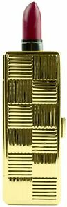 Vintage Gold Matchstick Boxed Lipstick Case With Mirror