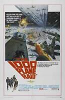 THE THOUSAND PLANE RAID Movie POSTER 27x40