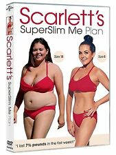 Scarlett Moffatt Superslim Me Plan DVD Exercise Fitness Workout Original UK R2