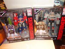 Transformers Generations Titans Return DIAC & OPTIMUS PRIME &  MEGATRON&DOOMSHOT
