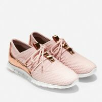 Cole Haan Zerogrand Pink & Gold Fashion Sneakers Size 7