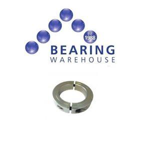 Shaft Collar Double Split Steel Metric Clamp Collars Zinc Plated (4mm to 80mm)