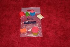 Math Pattern Block Rubber Stamps Learning Resources Set of 6