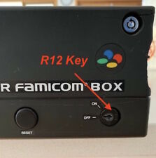 Nintendo Famicom & Super Famicom Box R12 Operator Keyswitch Key