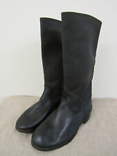 WW2 Type Red Army Artifficial Leather Long Boots. KIRZACHI Size 13.