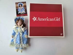 American Girl Nellie O'Malley NELLIE'S DOLL LYDIA Mint in Box Porcelain Mini Dol