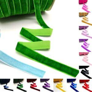 10 Yards Velvet Ribbon Neat Edge For Craft Wedding Party Christmas Decorations
