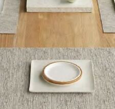 Placemat Chilewich Natural Matte Rectangular 14x19 Set of 4