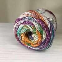 CARIBBEAN COTTON 100% Baumwolle FARBVERLAUF 20 VEGAN Gradient yarn Strickgarn