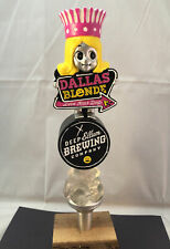 Deep Ellum Dallas Blonde Beer Tap Handle Rare Figural Girl Beer Tap Handle