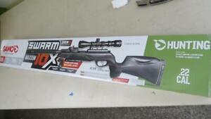 Gamo Swarm Maxxim 10X GEN2 .22 CAL Air Rifle Low Profile 3-9X 40mm Scope Black