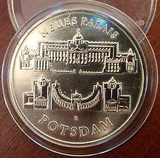 Architektur Münzen der DDR aus Kupfer